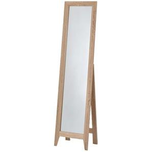 Standspiegel   holzfarben   38 cm   150 cm   45 cm  