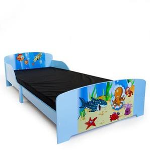 Kinderbett mit Lattenrost, 90 x 200 cm Shyann
