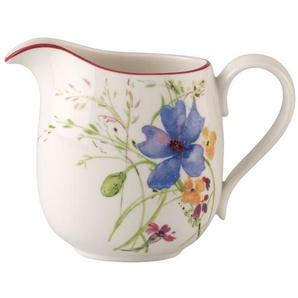 Villeroy & Boch Milchkännchen 300 ml MARIEFLEUR Basic Weiß mit farbigen Blüten