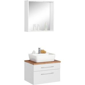 Waschtisch-Set , weiß, »Davos«, Energieeffizienzklasse: A++(Skala A++ bis E), HELD MÖBEL