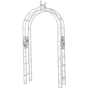 H.G. Rosenbogen, Metall, Design Rose, 125 x 37,5 x 250 cm, weiß