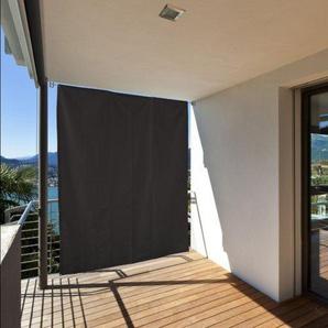 Home & Garden 301050107-HE Balkonschutz Sonnenschutz Sichtschutz vertikal 140x230 anthrazit