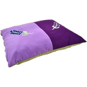 Heim Haustierdecke Lavendel 75 cm x 60 cm x 9 cm Violett