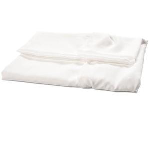 Dekostoff Uni, B:140cm x L:300cm, weiß