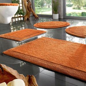 Badematte »Kapra« Home affaire, Höhe 10 mm, beidseitig nutzbar, Bio Baumwolle
