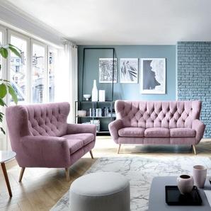 Exxpo by Gala Sofa, Rosa, Stoff
