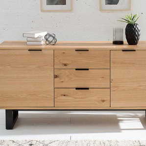 Design Sideboard CANADIAN WILD OAK 150cm Eichen-Optik