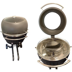 LotusGrill XXL : Anthrazit/ Grillhaube
