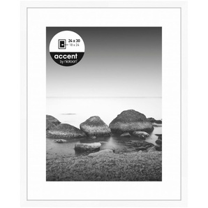 Nielsen Design Bilderrahmen »Nielsen Aura 24x30 Holz inkl. Passepartout 11220«