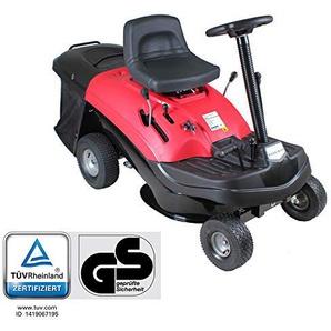 Home Deluxe - Benzin Rasenmäher - Reaper Rot - Motorleistung: 4,5 kW (6,5 PS) - 150 Liter Auffangkorb - 61 cm Schnittbreite und höhenverstellbar - Inkl. komplettem Zubehör