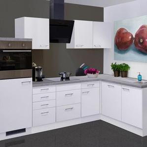 Küchenzeile mit E-Geräten »Kopenhagen«, Gesamtbreite 280x170 cm