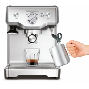 Espressomaschine Advanced S 42609 silber, Gastroback