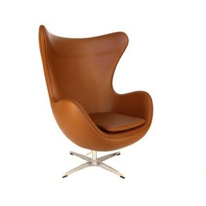 Egg Sessel Arne Jacobsen - Karamell
