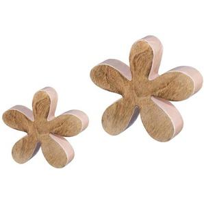 Dekoobjekt Blumen (2 Stück)