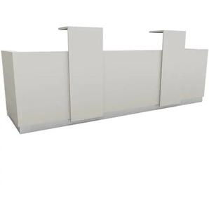 Theke »Calgary« grau, fm Büromöbel, 344x100x93.9 cm