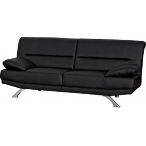 Sofa Bruno 2-Sitzer schwarz