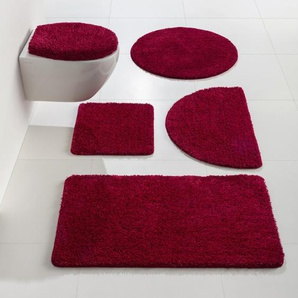 Badgarnitur, rot, Gr. 60/100 cm,  home, Material: Polyester, Gummi