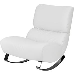 Design-Sessel weiß - Kunstleder Citole ¦ weiß ¦ Maße (cm): B: 76 H: 90 T: 103 Polstermöbel  Sessel  Polstersessel » Höffner
