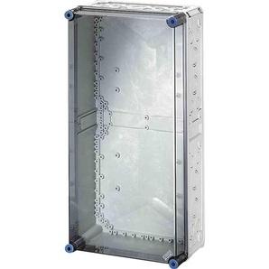 HENSEL MI0400 Wandgehäuse, Kunststoff, IP65, B300xH600xT170mm, ET146mm, transparent, RAL7035