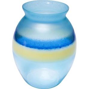 Vase blue River 25cm