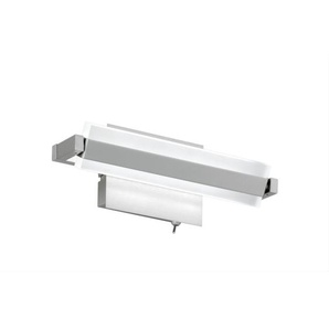 FISCHER & HONSEL verstellbare LED Wandlampe 1 flg. TURN ROUND 25 Nickelfarbig