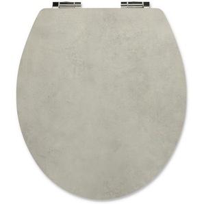 WC-Sitz Beton grau