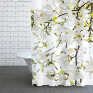 Magnolia Tree White - Duschvorhang