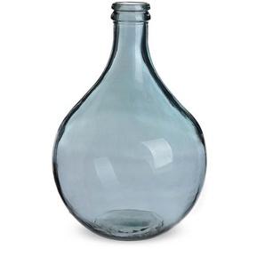 Ballonvase Drop, Glas, D:29cm x H:43cm, blau