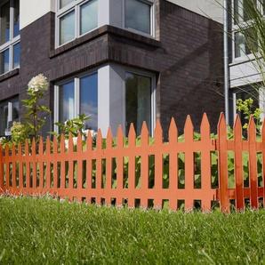 Prosperplast Minizaun »Garden Classic« terrakotta