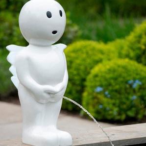 UBBINK Wasserspiel »BOY Engel«, BxTxH: 16x16x45,5 cm, weiß