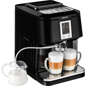 Kaffeevollautomat EA8808 2-in-1 Touch Cappuccino, Krups