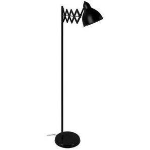 Design-Stehleuchte ausziehbar Stahl Schwarz ACCORDEON