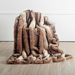 Star Home Textil Wohndecke »Nutria«, 150x200 cm, braun