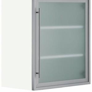 OPTIFIT Glashängeschrank, Breite 60 cm, grau