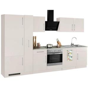 wiho Küchen Küchenzeile »Cali«, mit E-Geräten, Breite 310 cm
