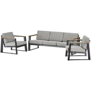 Royal Garden Lounge-Set   Royal Willbury ¦ grau ¦ Maße (cm): B: 99 H: 101