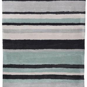 Teppich TOM TAILOR Polyester TOM TAILOR PowderFashionStri315 (BL 65x135 cm) TOM TAILOR 65 x 135 cm