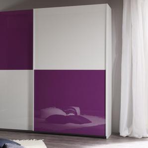 Lc Schwebetüren-Schrank, Breite 180 cm, lila