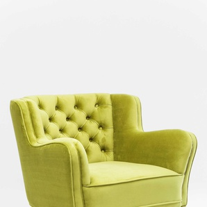 KARE Sessel ,Grün ,Stoff