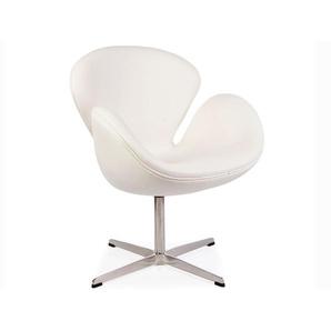 Swan Sessel Arne Jacobsen - Weiß