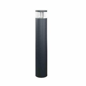 ESYLUX ALVA LED-Pollerleuchte, 18W, 84LEDs, IP65, 3000K, 1150lm, anthrazit, Aluminium, Kunststoff transparent