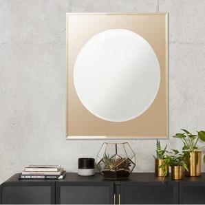 Mysti Spiegel (80 x 70 cm), Kupfer und Silber