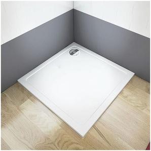 80x80cm Duschtasse 1Kunststein Acrylbeschichtung Für Duschkabine - AICA SANITAIRE