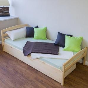 Funktionsbett Newport mit Bettkasten, 90 x 200 cm