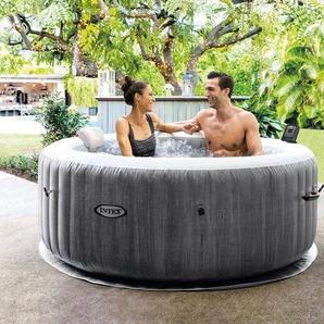 STEINBACH Set: Whirlpool »PureSpa™ Bubble Massage Greywood Deluxe«, 7-tlg., ØxH: 196x71 cm