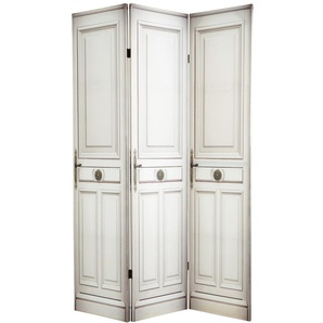 Raumteiler DOOR TO DOOR bedruckt aus Holz, B 120cm