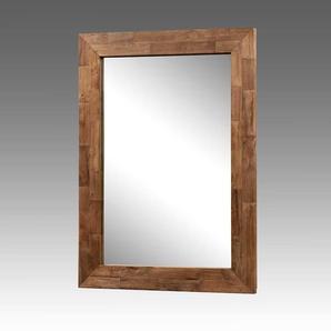 Wandspiegel mit Holzrahmen Teak Altholz