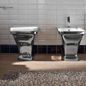 Scarabeo Butterfly Stand-WC weiß 400801