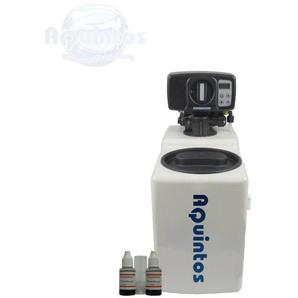 Wasserenthärter MKB 16 Eco-Line von Wasseraufbereitung | Entkalker mit Bypass-Funktion für 100% kalkfreies Wasser | Komplettset inkl. 75 kg Regeneriersalz - AQUINTOS-WASSERAUFBEREITUNG