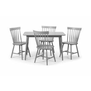 Essgruppe Mathilde mit 4 Stühlen